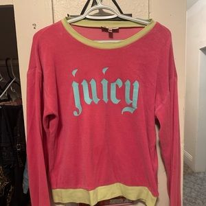 Neon juicy couture sweater